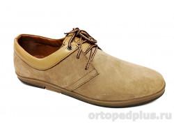 Туфли мужские 8-11 шн BI капучино