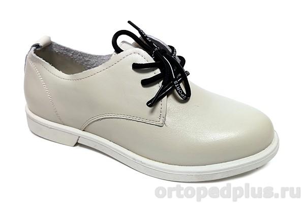 Комфортная обувь Туфли женские 8816-1-76 белый