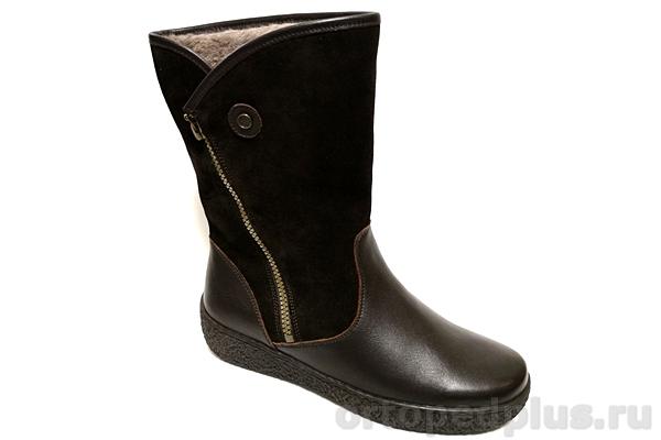 Комфортная обувь П/сапоги жен. 891225/1 коричневый