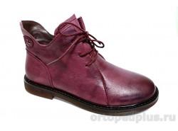 Ботинки женские 901-1 бордовый