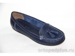 Туфли женские М127 синий
