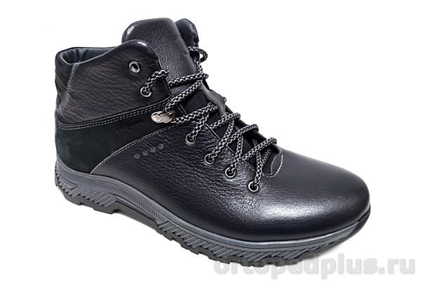 Комфортная обувь Ботинки мужские S-10101 зимние синий