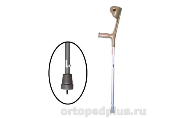 Костыль локтевой E 0504у регулируемой длины с УПС (95-118)