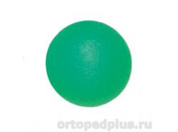 Мяч полужесткий зеленый L0350M