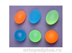 Мяч яйцевидный полужесткий зеленый L0300M