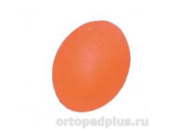 Мяч яйцевидный мягкий оранжевый L0300S