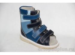 Сандалии 3002 т.синий/синий/голубой