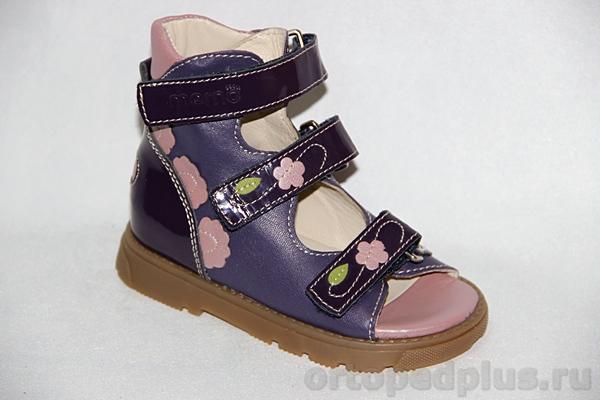 Ортопедическая обувь Сандалии Вики фиолетовый