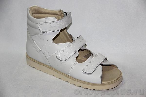Ортопедическая обувь Сандалии 14-140 белый