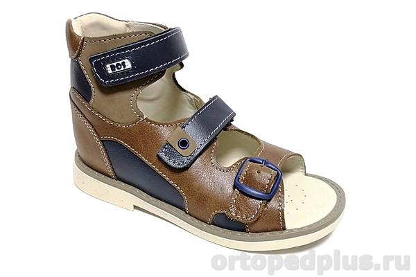 Ортопедическая обувь Сандалии 038-511 коричневый