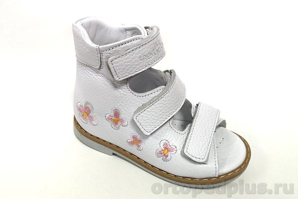Ортопедическая обувь Сандалии 06-125 белый