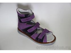 Сандалии 06-249 фиолетовый