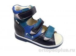 Сандалии 033-71 синий