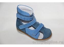 Сандалии 06-461 синий/голубой
