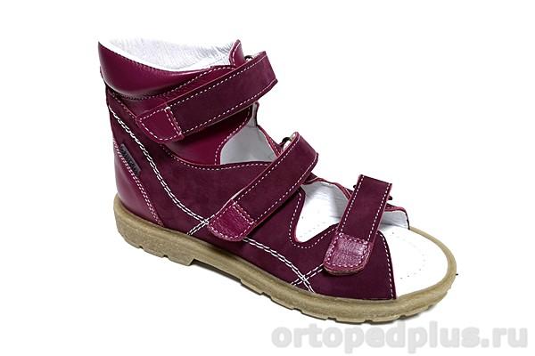 Ортопедическая обувь Сандалии 18003 марсала