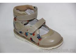 Туфли 60657 бежевый