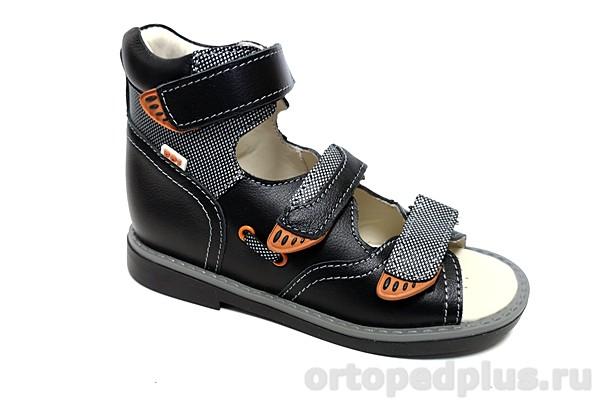 Ортопедическая обувь Сандалии 033-11 черный