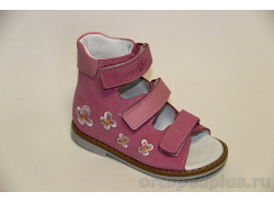 Сандалии 06-105 розовый