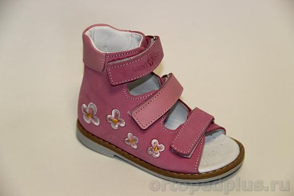Ортопедическая обувь Сандалии 06-105 розовый