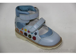 Туфли 60657 св.голубой