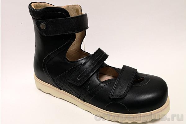 Ортопедическая обувь Сандалии 15-326 черный