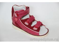 Сандалии 15-242М т.розовый