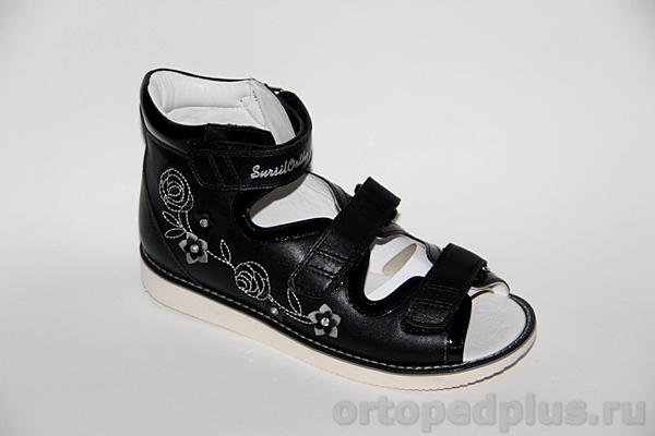 Ортопедическая обувь Сандалии 15-324M черный