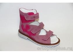 Сандалии 06-254 розовый/фуксия