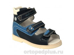Сандалии 13-103 синий/голубой/белый
