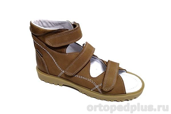 Ортопедическая обувь Сандалии 18039П коричневый