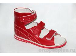 Сандалии 10-012-1 красный