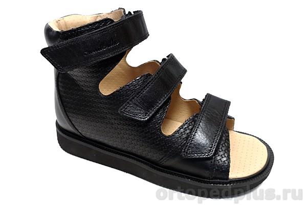 Ортопедическая обувь Сандалии 15-337 черный